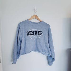 Wild Fable cropped crewneck sweatshirt